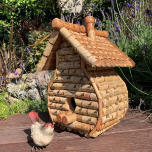 cork birdhouse raffle prize